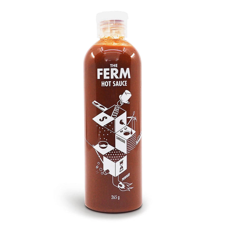 The Ferm Hot Sauce 265g ChilliBOM Hot Sauce Club Australia Chilli Subscription Gifts SHU Scoville