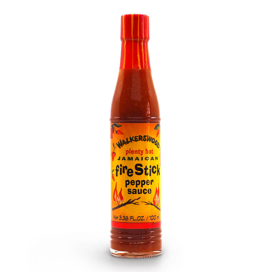 Walkerswood Jamaican Firestick Pepper Sauce 100ml ChilliBOM Hot Sauce Club Australia Chilli Subscription Gifts SHU Scoville