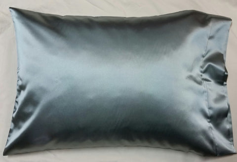 Steel (Dark Gray) Satin Pillowcase