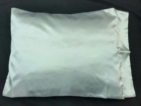 Light Gray Satin Pillowcase