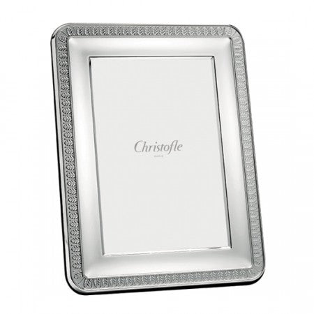 CHRISTOFLE MALMAISON SILVER PLATED PICTURE FRAMES