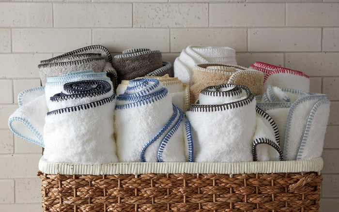 Whipstitch Towel Collection               by Matouk