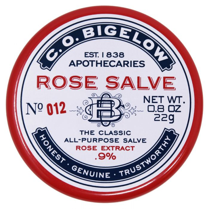 C.O. Bigelow Rose Salve Tin Lip Balm