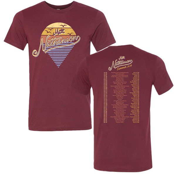 Summer Sunset Tour Tee