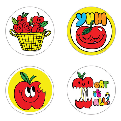 Scratch and Sniff Stickers: Apple