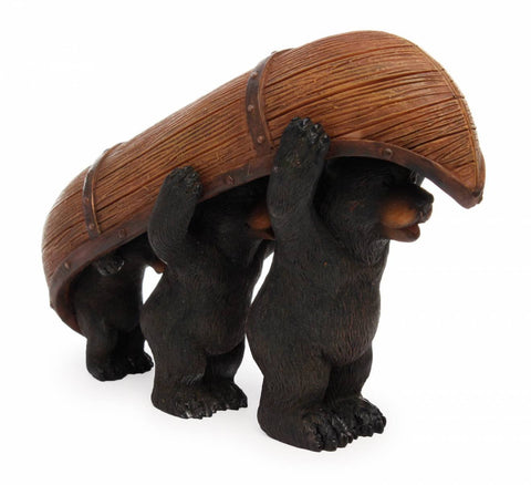 Animal | Bears Carrying Canoe