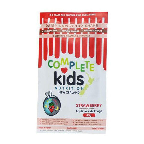Anytime Kids 45g (single serve) Strawberry