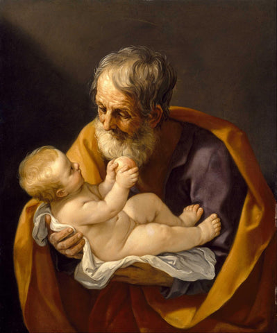 St. Joseph & Child Jesus, 11 x 14