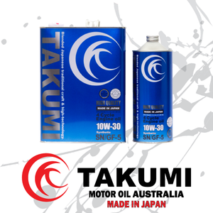 High Quality 10W-30 - Takumi Motor Oil Australia