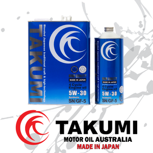 High Quality 5W-30 - Takumi Motor Oil Australia
