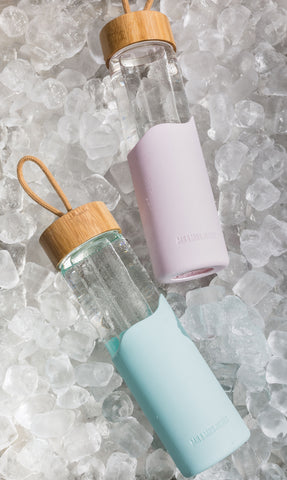 Bamboo Water Bottle | Musk