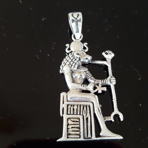 Pendant Sekhmet Sterling Silver | Carpe Diem with Remi