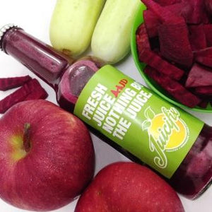 Root Robust - Apple + Beetroot + Carrot + Ginger + Cucumber + Lime.