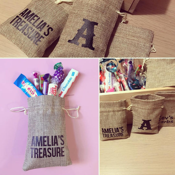 Personalised Jute Treat Bag