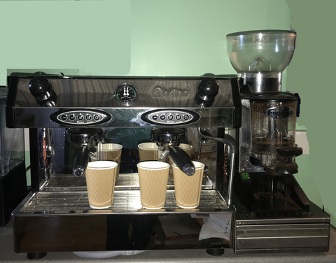 Rent a Traditional Espresso Machine Package for as little as £4 plus VAT per day