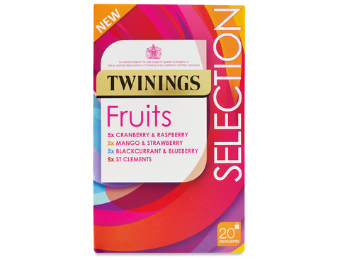 Twinings Fruit Selection Envelope Herbal Infusions (4x5)
