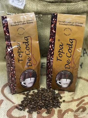 Topa de coda Fairtrade espresso coffee beans (10x500g)