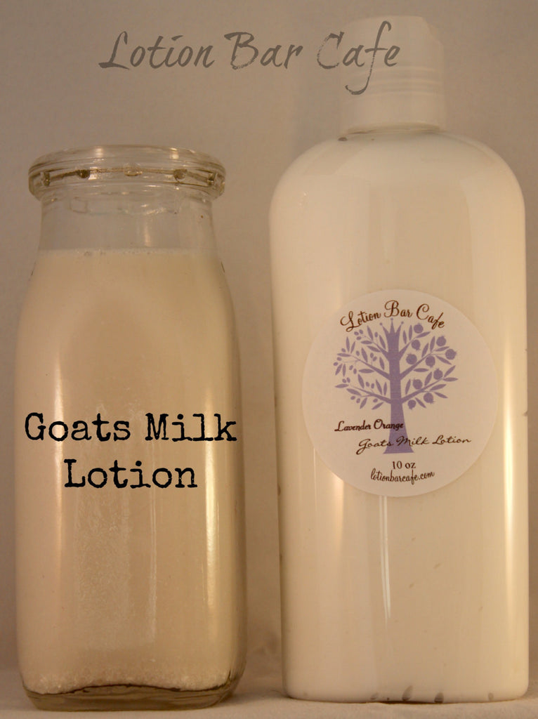 Lavender Orange Goats Milk Liquid Lotion