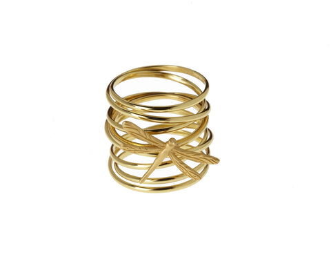 Multi Wrap Gold Ring