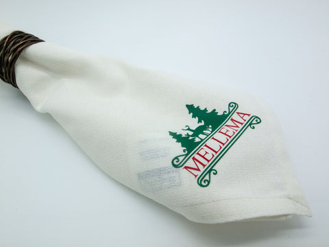 Custom Christmas Cloth Napkins