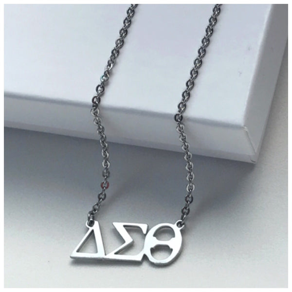 DELTA Necklace (Greek Letters Only)