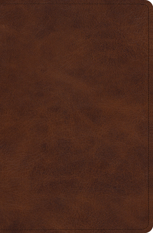 ESV Verse-by-Verse Reference Bible (TruTone, Deep Brown)