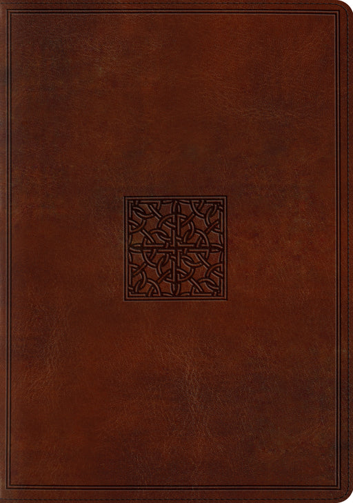 ESV Study Bible (TruTone, Walnut, Celtic Imprint Design)
