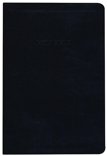 KJV Large Print Thinline Reference Bible, Black
