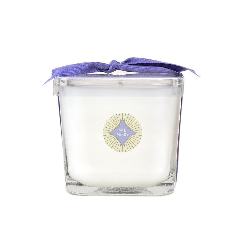 White Linen & Lavender Legacy No. 07 Square Glass Candle