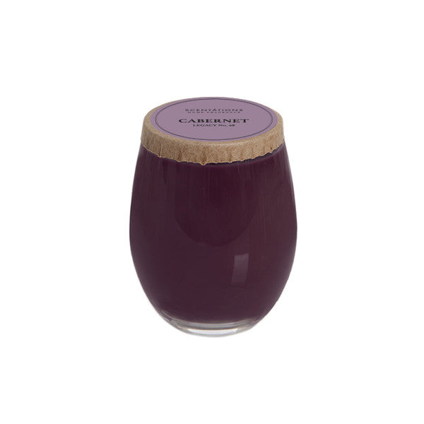 Cabernet Legacy No. 98 Stemless Wine Glass Candle