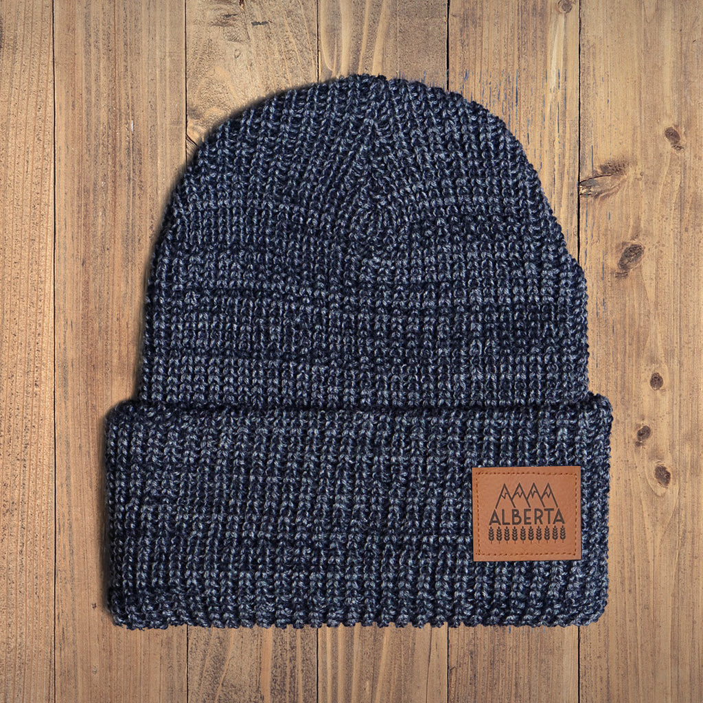 Explore Alberta Chunky Knit Youth Toque - Ole Originals Clothing Co.