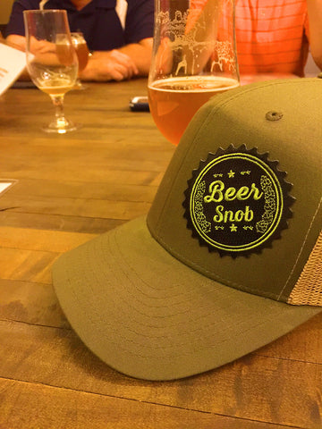 Beer Snob Snap Back Hat