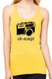 Oh Snap Ladies Tank - Side Street Print