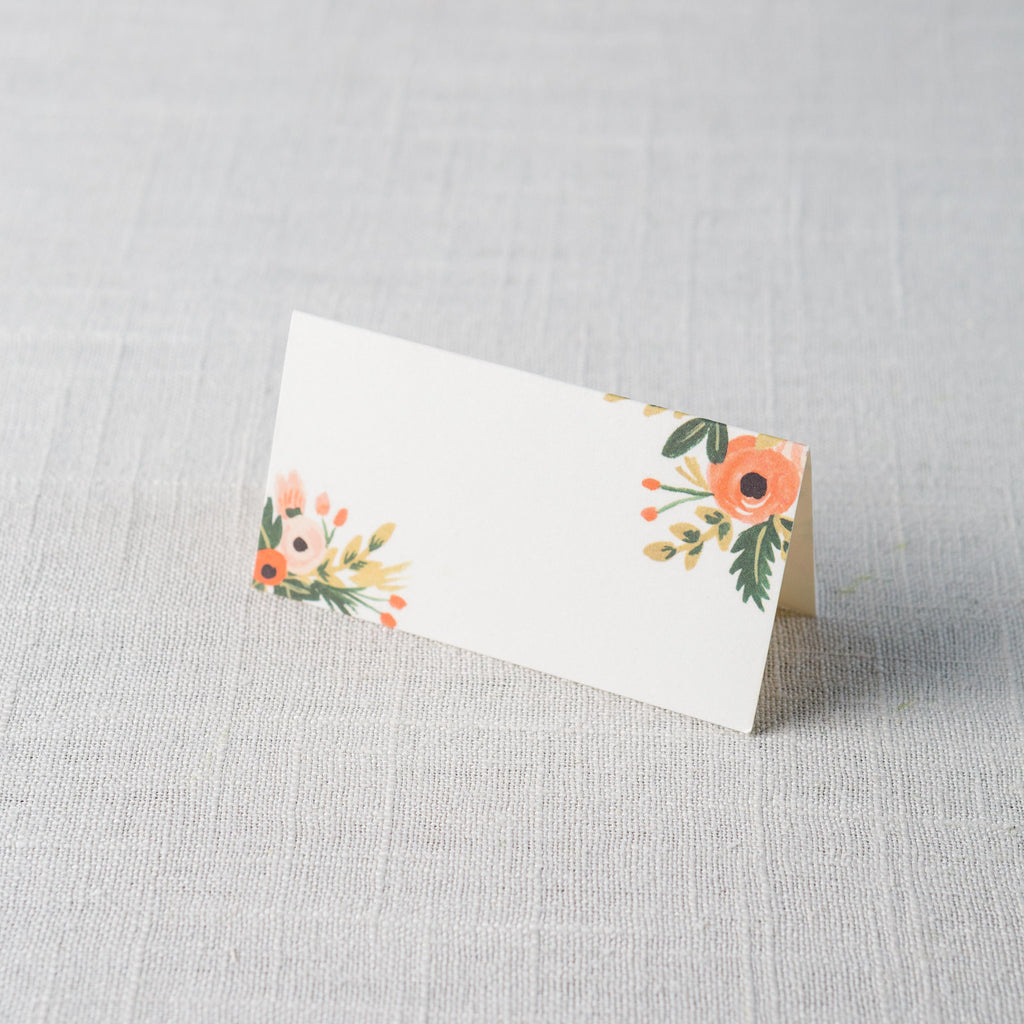 Dusty Rose Place Cards Rifle Paper Co. - Cork Collection