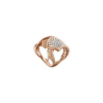 Just Cavalli Women's Rose Gold Ring - Ray's Jewellery