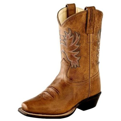 "Old West ""8202"" Western Boot Tan"