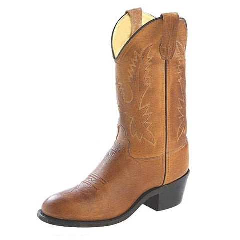 "Old West ""1129"" Western Boot Tan"