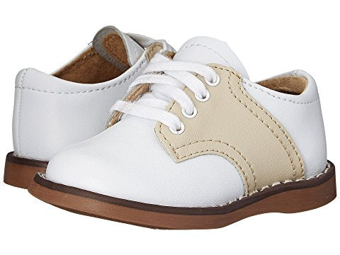 "FootMates ""Cheer"" White/Ecru"