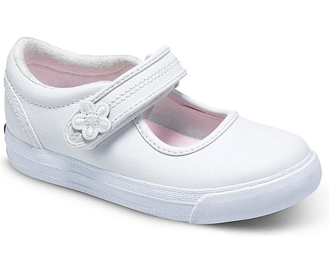 "Keds ""Ella"" Mary Jane White"