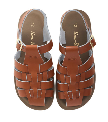 "Salt Water Sandal ""Sailor"" Sandal Tan"
