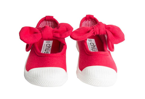 "Chus ""Athena"" Mary Jane Sneaker Red"