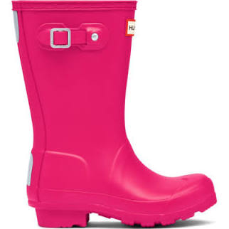 Hunter Boots Bright Pink