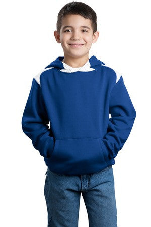 Seymour Tradition Royal Youth Colorblock Hooded Sweatshirt 2