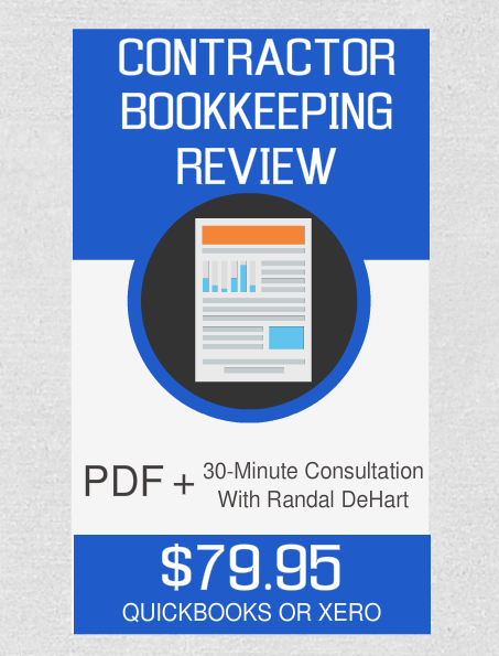 Contractor Bookkeeping Review And 30-Minute Consultation - Fast Easy Accounting Store