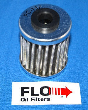 PC157 - Stainless Steel Oil Filter