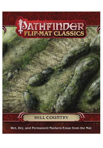 Pathfinder Flip Mat: Hill Country