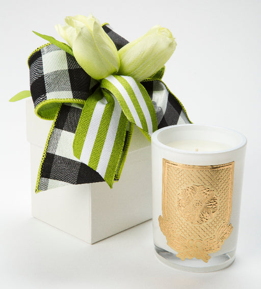 Spring - Lime Blossom Candle - 08 oz. flower box - Lux Fragrances