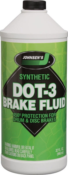 TCC-Johnsen Dot 3 Brake Fluid 1 QTS