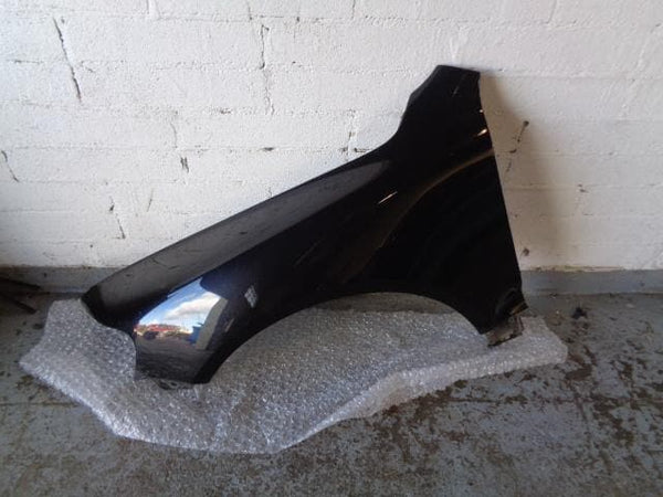 2002 - 2006 VW TOUAREG 7L NEAR SIDE FRONT WING IN DIAMOND BLACK LC92 #01108