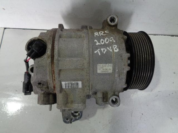 2007 - 2009 RANGE ROVER SPORT L320 TDV8 AIR CONDITIONING COMPRESSOR #02108